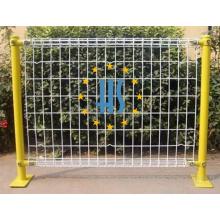 Pulverbeschichtung galvanisierter doppelter Draht-Zaun