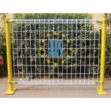 Powder Coating Galvanized Double Wire Fence