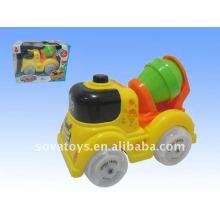 Caminhão plástico da cubeta do brinquedo dos desenhos animados