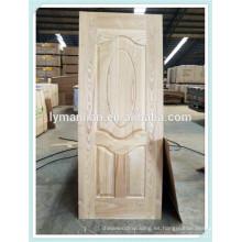 Piel de puerta de melamina HDF de alta calidad exportada a Egipto