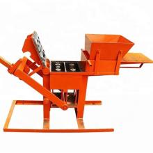 2-40 interlocking clay compressed earth brick block moulds press making machine