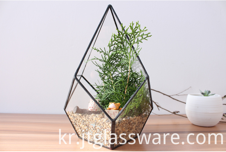 tall glass vases