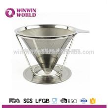 Высокое качество перфорированный металлический чайник из нержавеющей стали фильтр для кофе Вьетнам