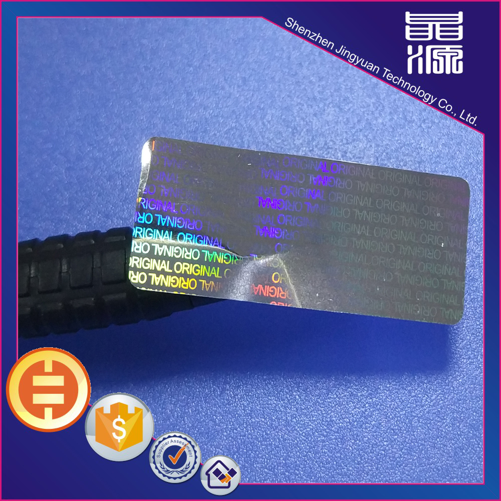 Kode QRI 3D Label Hologram Anti-palsu