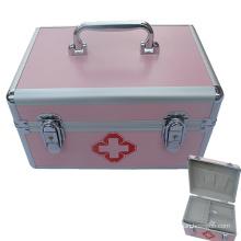 Estojo de emergência de alumínio para uso médico
