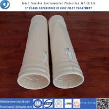 Nonwoven Nadel gelocht Filter Wasser und Öl abweisend PPS Zusammensetzung Staub Filterbeutel für Industrie