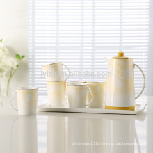 Set of 8 beautiful tea pot for dubai