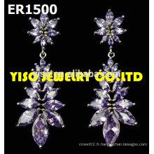 Boucles d'oreilles à bijoux