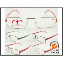Hot Selling Colorful Tr90 Temples Metal Optical Frames (WRM503022)