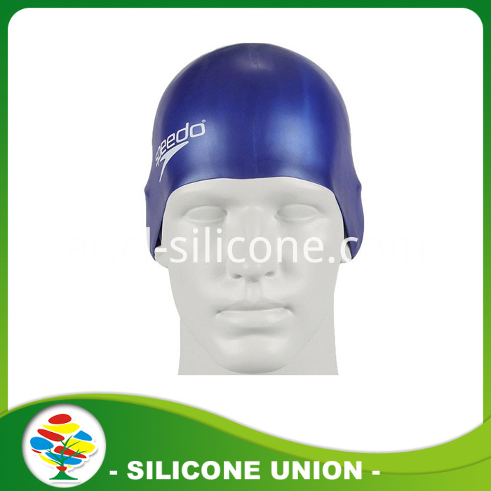 Siliocne swimming cap modle
