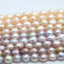 10-11mm De qualidade superior Multi Color Baroque Biwa Pearl Pearl (E190038)