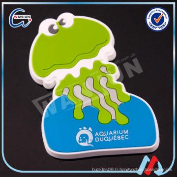 Soft pvc qatar fridge magnet
