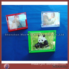 Square Small Desk Top Skillful Acrylic Picture Frame