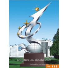 2016 Nueva Escultura de Acero Inoxidable al aire libre Alta Quanlity Arquitectura Estatua