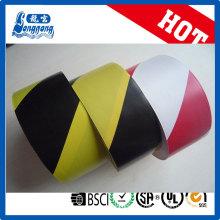 Brillante cinta de color PVC de marcado de piso