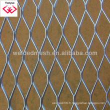 Feuille métallique étendue carrée de 0,1 à 8 mm