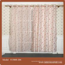 Schiere Vorhanggewebe, klassische Vorhänge, preiswerter bloßer Stoff / afrikanischer Prägevorhangabdeckung