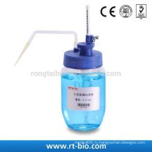 RONGTAI Регулируемая стеклянная литьевая дозатор прозрачного стекла 0,38 мл