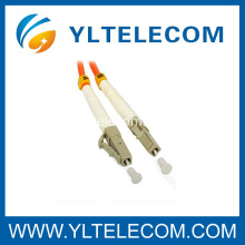 LC Optical Patch Cord 62.5 / 125 Multimode in CATV System Telecommunications
