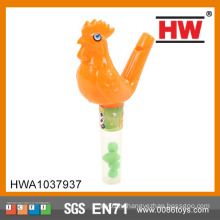 Более дешевые пластиковые игрушки Candy животных со свистком игрушки