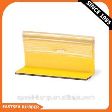 Marcador de pavimento temporário reflexivo branco, amarelo, vermelho na estrada