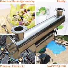 Esterilizador desinfetador de água UV seguro verde Equipamento de tratamento de água