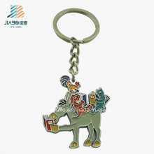 Custom Promotion Crafts Casting Enamel Animal Keychain From China Manufacturer