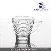 Copo de vidro barato 150ml com alça