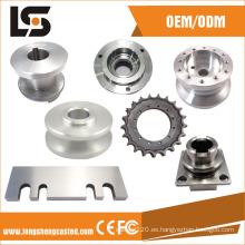 Piezas del CNC del fabricante de China que trabajan a máquina y accesorios del torno