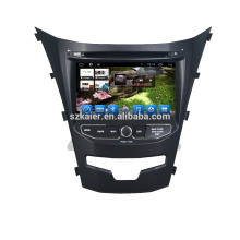 Kaier Wholesale Android 6.0/7.1 auto radio car Navigation for Ssangyong Korando 2014 2015 2016 with GPS Rear view Camera