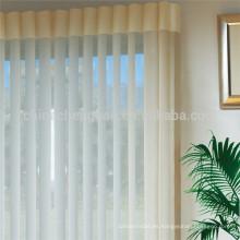 Elegante blanco blanco persianas persianas verticales de oficina