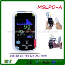 MSLPO-B 2016 Cheap Handheld Pulse Oximeter with Bluetooth wireless Funciton