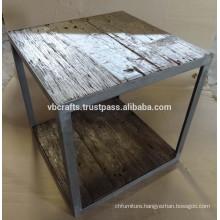 Industrial Coffee Table made with reclaimed railway sleeper wood