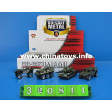 Metal Die Cast Model Military Army Car Toy (320811)