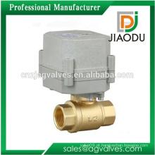 Fabricante de porcelana forjado personalizado npt latão motor operado válvula preço