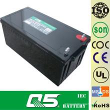 12V250AH Batterie en cycle profond Batterie au plomb Batterie décharge profonde, batterie de réserve Puissance