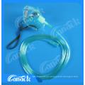Equipamentos Médicos máscara facial mascara de oxigênio com tubo