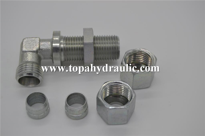 6C 6D metric braided hose fitting
