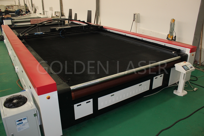 Industrial Fabrics Laser Cutting Machine Golden Laser