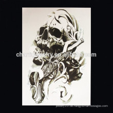 OEM Großhandel Teufel Arm Tattoo Teil der Arm Tattoo Schädel Arm Tattoo W-1009
