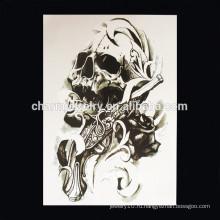 OEM оптовой дьявол руку татуировки часть руки татуировка черепа руку тату W-1009