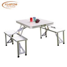 4 Person Folding Camping Table With Seats
