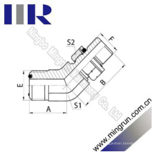 45 Elbow Orfs Male / Bsp Außen O-Ring Hydraulikschlauch Adapter (1FG4-OG)