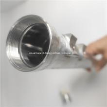 Tanque de armazenamento líquido de alumínio sem emenda usado veículo elétrico