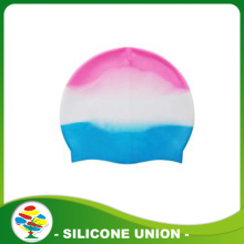 Novelty Multicolour Silicone Swimming Cap