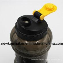 2.2L BPA Free Plastic Gym Water Garrafa para Whey Protein Fitness