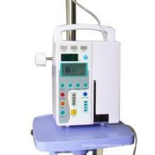 Pompe à perfusion de seringue de vente chaude, pompe à perfusion d'hôpital