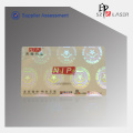84*52 MM Transparent Id Card Security Hologram Stickers