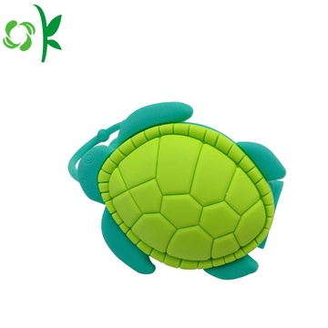 Silikon Turtle Hand Sanitizer Hållare till salu Cartoon