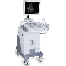 CE Trolley B/W ultrasound scanner machine with 15inch LED monitor ultrasound diagnostic machine
